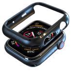 Apple Watch 4 44mm ケース アップルウォッチ カバー PC軽量超簿 耐衝撃性 Apple Watch Series 4 44mm 対応(ブラック)商品代引不可