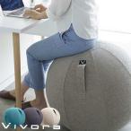 バランスボール チェア ビボラ vivora シーティングボール ルーノ シェニール 椅子 姿勢矯正 ボール ストレッチ 体幹 ヨガ バランスボール