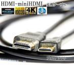 HDMI ケーブル HDMI -ミニHDMI端子 キヤノン HTC-100互換品 1.4規格対応 1.5m ・金メッキ端子 (イーサネット対応・Type-C・mini)