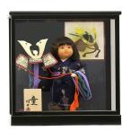五月人形 初節句 コンパクト ケース飾り ケース 武者人形 子供の日 端午の節句 2016年新作 童人形6号 大将