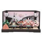 ひな人形 雛人形 2016年 名入れ木札 吉徳 親王飾り 花ひいなシリーズ 束帯・十二単雛人形