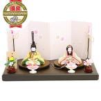 雛人形 こひな 親王飾り 木目込「こひな 吉野桜シリーズ 古典文様柄」