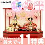 雛人形 ひな人形 ぷり姫 艶シリーズ 人形工房天祥 限定オリジナル ケース飾 コンパクト 親王飾り 衣装着ひな人形