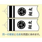 こいのぼり 庭園用 徳永 【2019年新作】 鯉幟 家紋 お名前入れ 専用