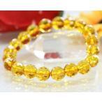 ブレスレット シトリン 黄水晶 ブレスレット パワーストーン 天然石 ...