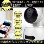 防犯カメラ 監視カメラ 暗視可能 無線LAN対応 webカメラ IPカメラ ベビーモニター WiFi スマホ対応 ネットワークベビーモニター