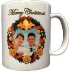 クリスマスリース 名入れ・写真入れ マグカップ