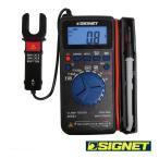 SIGNET 46591 クランプ付デジタルマルチメーター (ケース・ピン付)