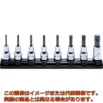 コーケン Z-EALトルクスビットソケットレールセット  8ヶ組 RS3025Z8L50