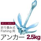 アンカー2.5kg 釣り/いかり/錨/フィッシングボート