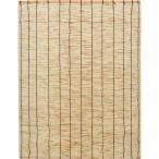 トラスコ 天然すだれ ナチュラル 幅88cm×高さ180cm (1枚) 品番:TRBR-0818