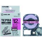 キングジム テプラPROテープ強粘着タイプピン/黒字 (1個) 品番:SC12PW