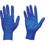 トラスコ中山 使い捨て天然ゴム手袋TGセーフ 0.12 粉...