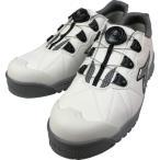 ディアドラ DIADORA安全作業靴 フィンチ 白/銀/白 27.5cm (1足) 品番:FC181-275