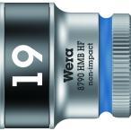 Wera 8790 HMB HFソケット 3/8 19.0mm 003753