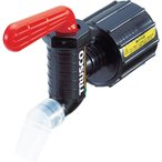 TRUSCO 樹脂製給油コック キューちゃん 口径40仕様 QC-40-R≪代引不可≫≪サイズ120以上で個人宅は別途送料≫