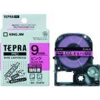 キングジム テプラPROテープ強粘着タイプピン/黒字 SC9PW