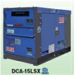 【ポイント15倍】 Denyo (デンヨー) ディーゼル発電機 DCA-15LSX 防音型 【大型】