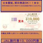 JAL 旅行券 10,000円 2024年3月末迄以降 商品券 ギフト券 金券 ポイント ビニール梱包