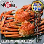 (かに ずわいがに) 超特大ボイルずわい蟹/姿 1kg前後×2尾入り(化粧箱入り) |希少な超特大サイズを厳選|送料無料|カニ|かに|蟹