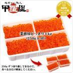 (イクラ) 北海道産 いくら醤油漬け1kg(250g×4P) お得な業務用|送料無料|