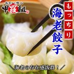 ショッピング餃子 もっちり海老餃子750g (50個入)(他商品と同梱OK)【えび】【エビ】【海老】【餃子】