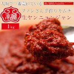 【冷蔵】生ヤンニョンジャン(キムチヤンニョンジャン)【大サイズ1kg】韓国の万能調味料