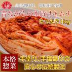 【冷蔵】昔ながらの白菜本漬けキムチたっぷり【1キロ】