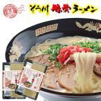 豚骨ラーメン 手延べ麺 2人前×2パック くまもとラーメン(肥後そう川)