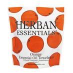 Yahoo!香水カンパニーハーバンエッセンシャルズ HERBAN ESSENTIALS アロマタオル ミニ オレンジ 7包 【odr】