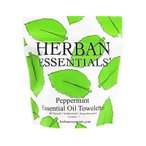 Yahoo!香水カンパニーハーバンエッセンシャルズ HERBAN ESSENTIALS アロマタオル ミニ ペパーミント 7包 【odr】