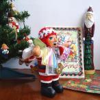 エケコ人形 エケッコ人形 サンタ 風水古銭付 ペルー産 エケッコ人形 仰天ニュース 幸せを呼ぶ 置物 飾り物 癒し 金運