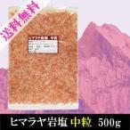 ヒマラヤ岩塩 中粒 500g 送料無料 ピンク岩塩 ミル用