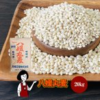 八媛丸麦 20kg 国産大麦 お徳用サイズ マクロビ パールバーリー