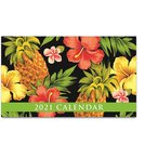 送料無料! 2021年 ハワイカレンダー (ミニサイズ)ハワイアンダイアリー/スケジュール帳 Tropical Pineapple トロピカル・パイナップル