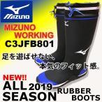 長靴 ミズノ mizuno F3JBN901 新作 レインブーツ メンズ 2019 AW 作業 農業 園芸