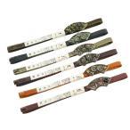 ラインストーン 帯留付 三分紐 正絹 帯締め 日本製 全6色 ss-122