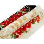 夢百華 七宝椿 振袖用 シルエリー 金刺繍入り 半衿 全3色 si-2