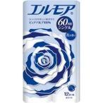 (まとめ) カミ商事 エルモア 花の香り シングル 芯あり 60m 1パック(12ロール) 〔×10セット〕
