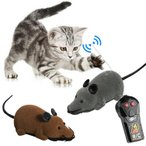 猫のおもちゃ ねずみラジコン / ペット用おもちゃ ネコ おもちゃ 玩具 電動マウス 追っかける ネズミ ねこ 遊び 電動おもちゃ
