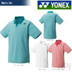 テニスウェア バドミントン ウェア ユニセックス  ヨネックス YONEX ポロシャツ スタンダードサイズ 12122 FW