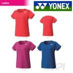 テニスウェア バドミントン ウェア レディース  ヨネックス YONEX シャツ スリムロングフィットタイプ 20289  SS