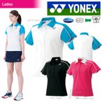 YONEX レディースポロシャツ 20312 ホワイト S