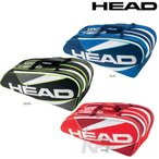 「2016新製品」HEAD(ヘッド)「ELIE 9R SUPERCOMBI(エリート 9R スーパーコンビ)9本入ラケットバッグ 283366」テニスバッグ