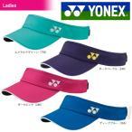 ショッピングサンバイザー ヨネックス YONEX テニスウェア Ladies ウィメンズ サンバイザー 40040 2017新製品 2017SS