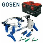 GOSEN ゴーセン オフィシャルストリンガーAM200 バドミントン専用手動ストリングマシン/ガット張り機/ストリングマシーン 6月末入荷予定※予約