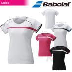 『即日出荷』 「2016新製品」Babolat(バボラ)「Women's レディース ゲームシャツ BAB-1629W」テニスウェア「2016SS」