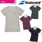 バボラ Babolat テニスウェア Women's レディース ショートスリーブシャツ BAB-1681W 「2016FW」