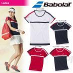 バボラ Babolat テニスウェア Women's レディース ショートスリーブシャツ BAB-1686W 「2016FW」