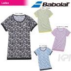 バボラ Babolat テニスウェア Women's レディース ショートスリーブシャツ BAB-1691W 「2016FW」